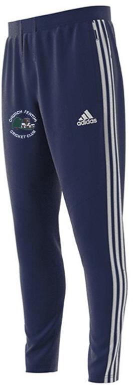 Church Fenton CC Adidas Junior Navy Training Pants