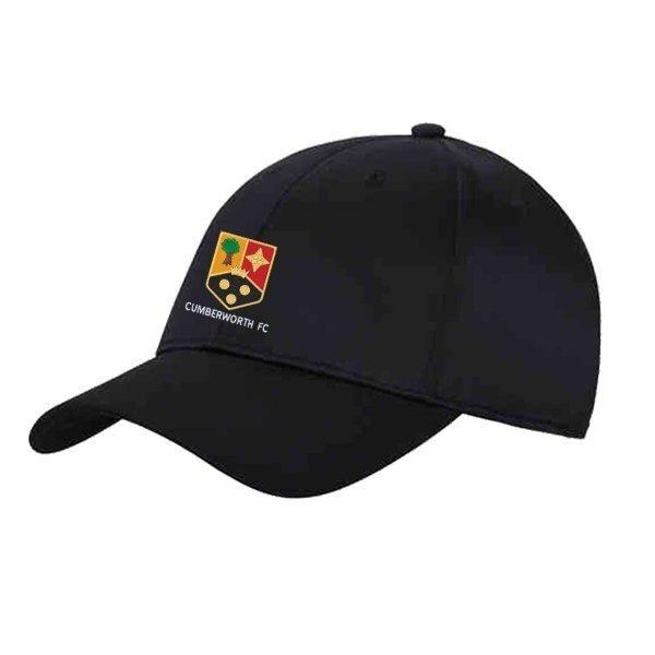 Cumberworth FC Adidas Black Baseball Cap