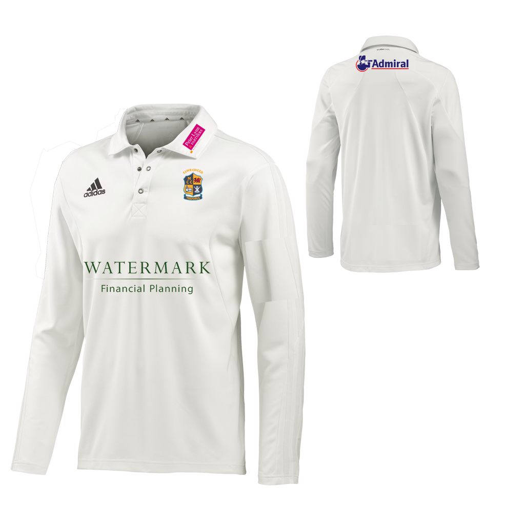 Morriston CC Adidas L-S Playing Shirt