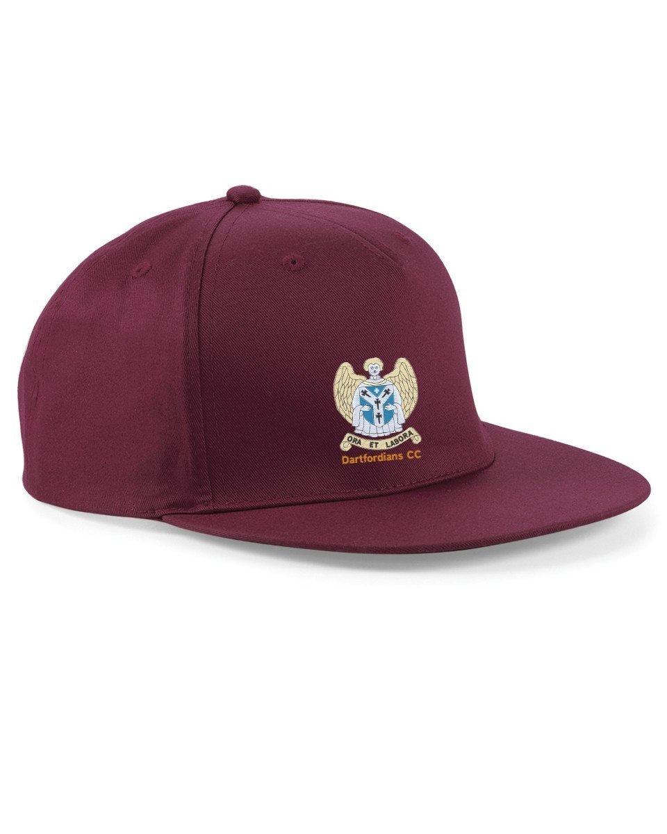 Dartfordians CC Maroon Snapback Hat