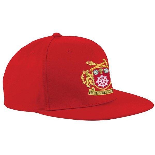 Osbaldwick FC Red Snapback Hat