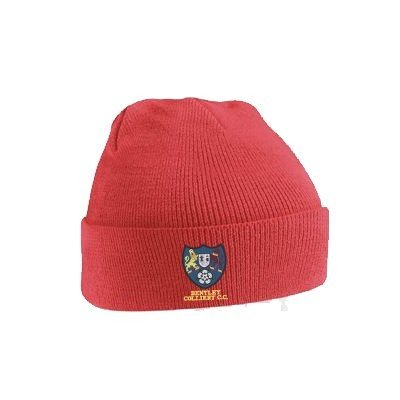 Bentley Colliery CC Red Beanie