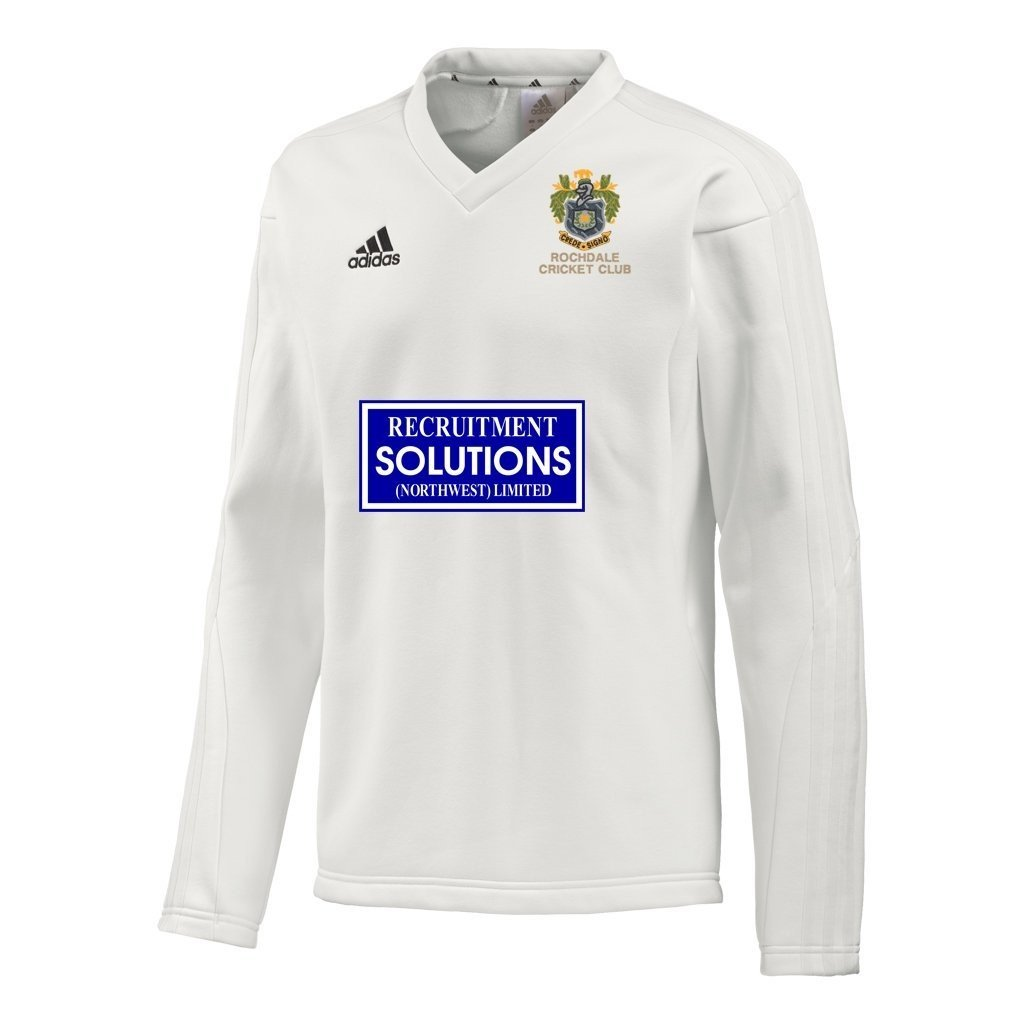 Rochdale CC Adidas L-S Playing Sweater