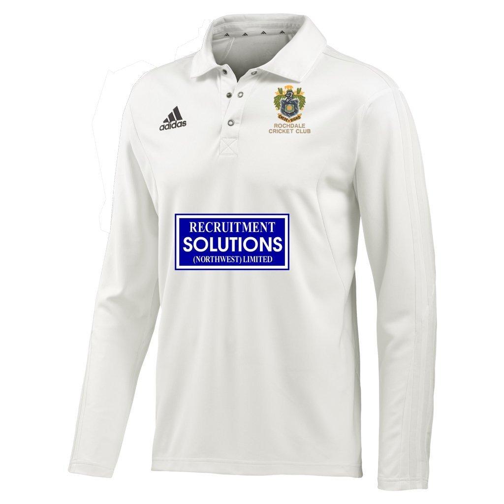 Rochdale CC Adidas L-S Playing Shirt