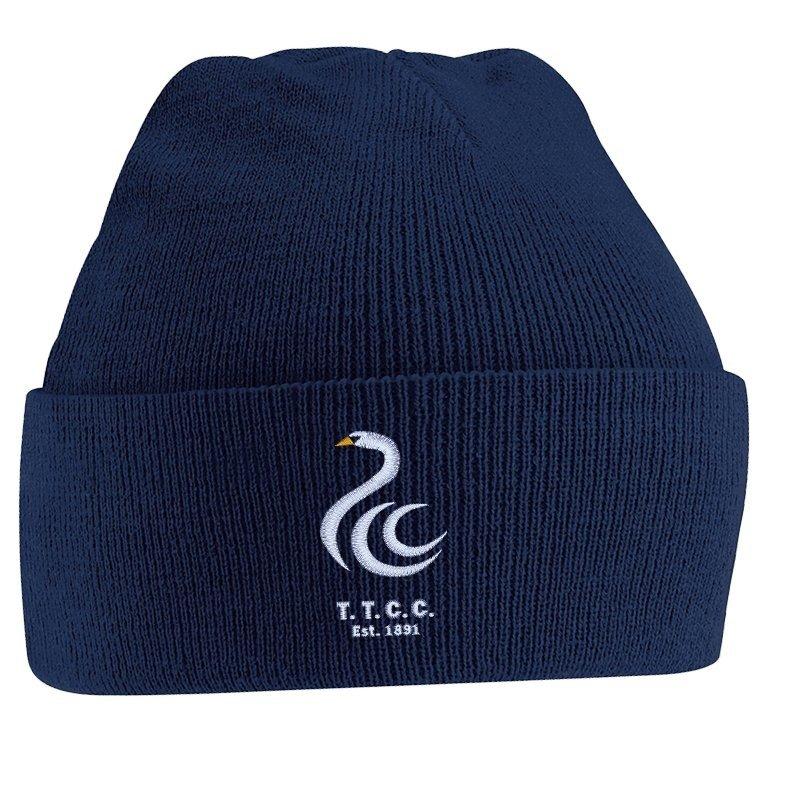 Teddington Town CC Adidas Navy Beanie