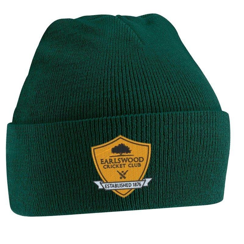 Earlswood CC Green Beanie