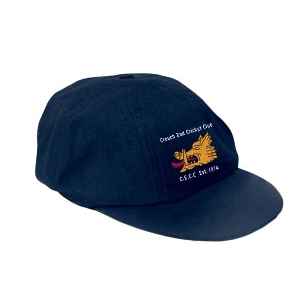 Crouch End CC Elasticated Navy Baggy Cap
