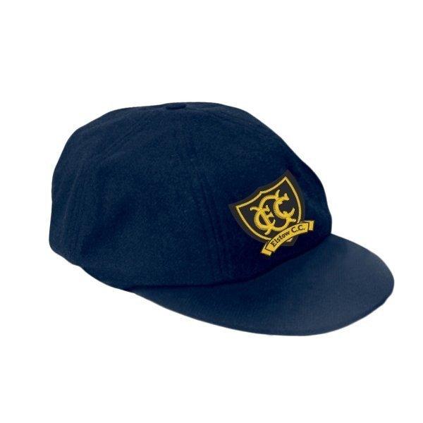 Elstow CC Elasticated Navy Baggy Cap