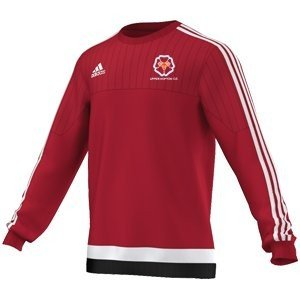 Upper Hopton CC Adidas Red Sweat Top