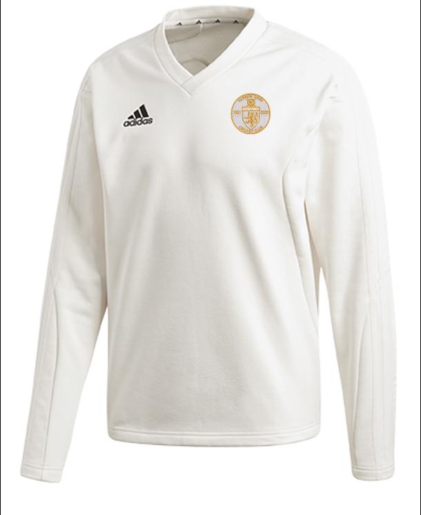 Harrow Town CC Adidas Elite Long Sleeve Sweater