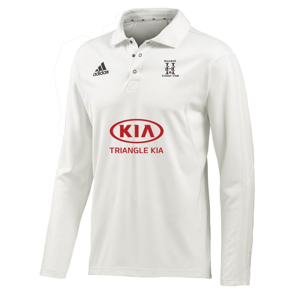 Hundall CC Adidas L/S Playing Shirt