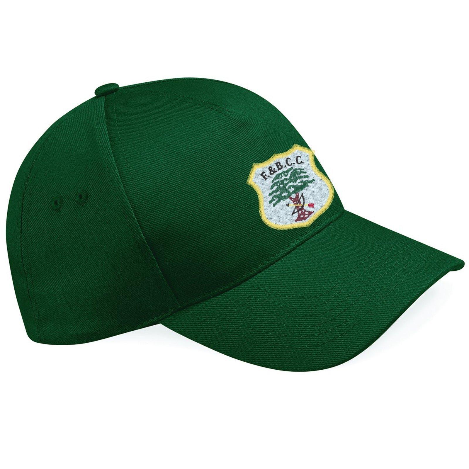 Fulwood & Broughton CC Green Baseball Cap