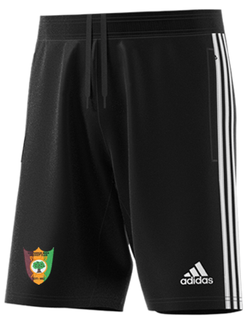 Shepherds Bush CC Adidas Black Junior Training Shorts