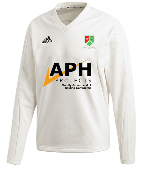 Great Bromley & District CC Adidas Elite Long Sleeve Sweater