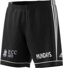 Effingham CC Adidas Black Training Shorts