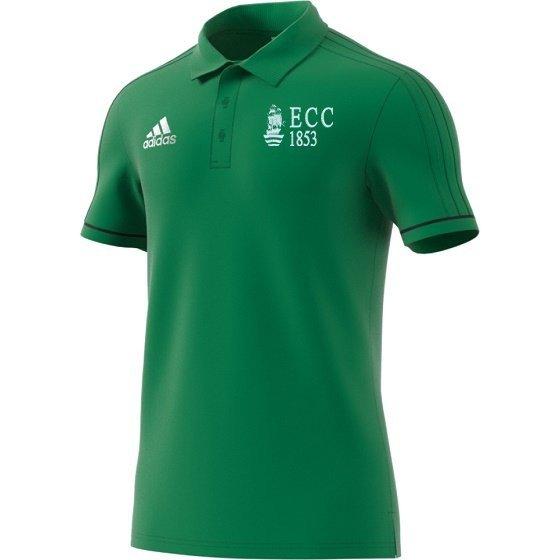 Effingham CC Adidas Green Polo Shirt
