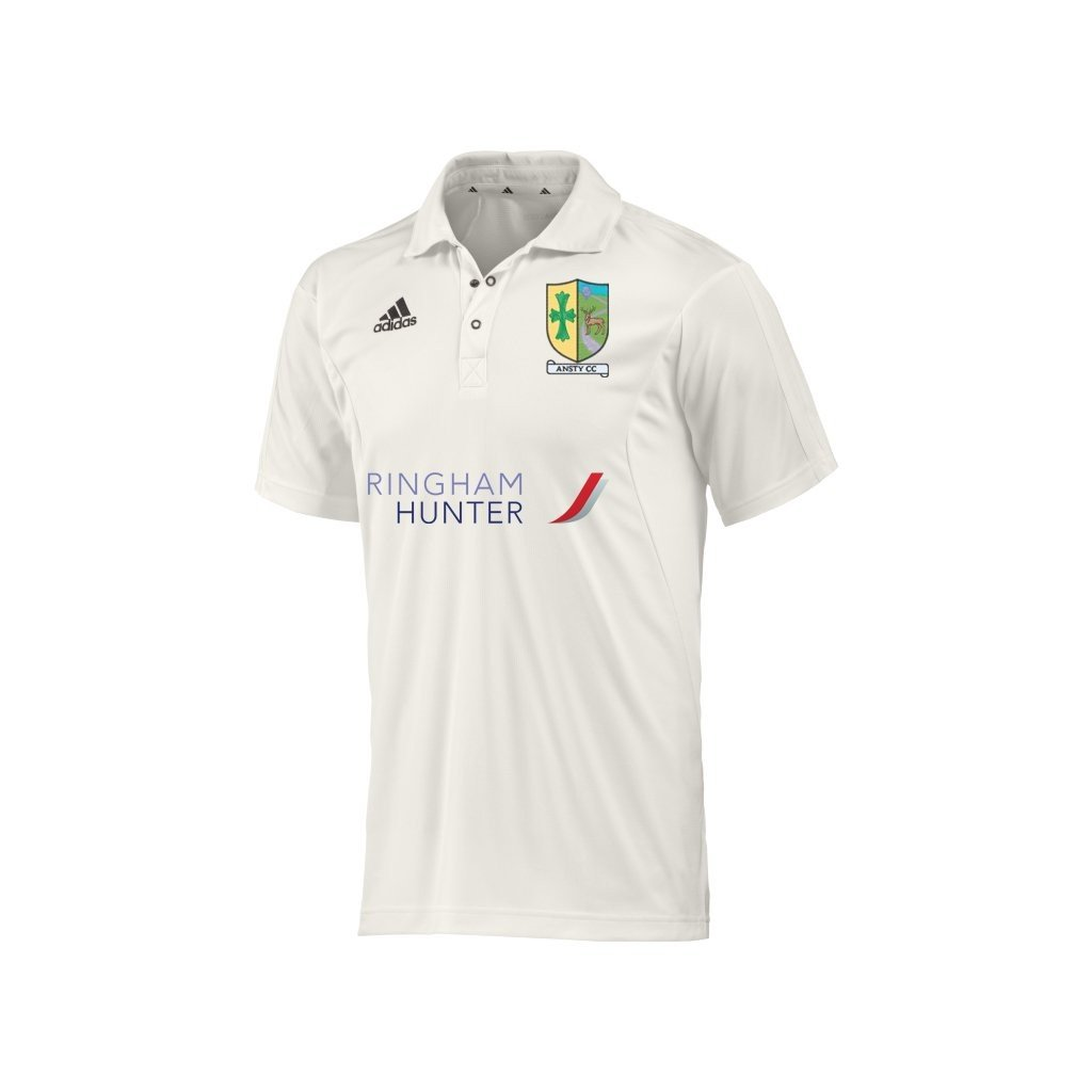 Ansty CC Adidas S/S Playing Shirt