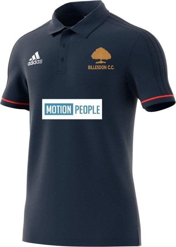 Billesdon CC Adidas Navy Polo Shirt