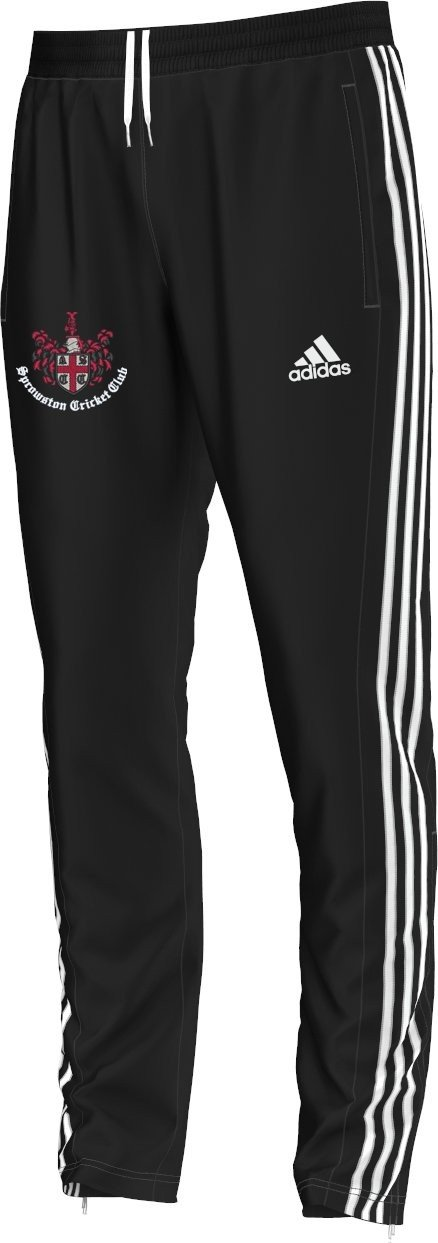 Sprowston CC  Adidas Junior Black Training Pants