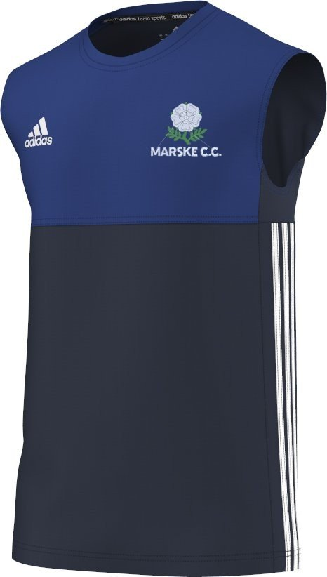 Marske CC Adidas Navy Training Vest