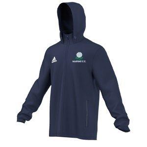 Marske CC Adidas Navy Rain Jacket