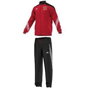 Darley Dale CC Adidas Red Presentation Tracksuit