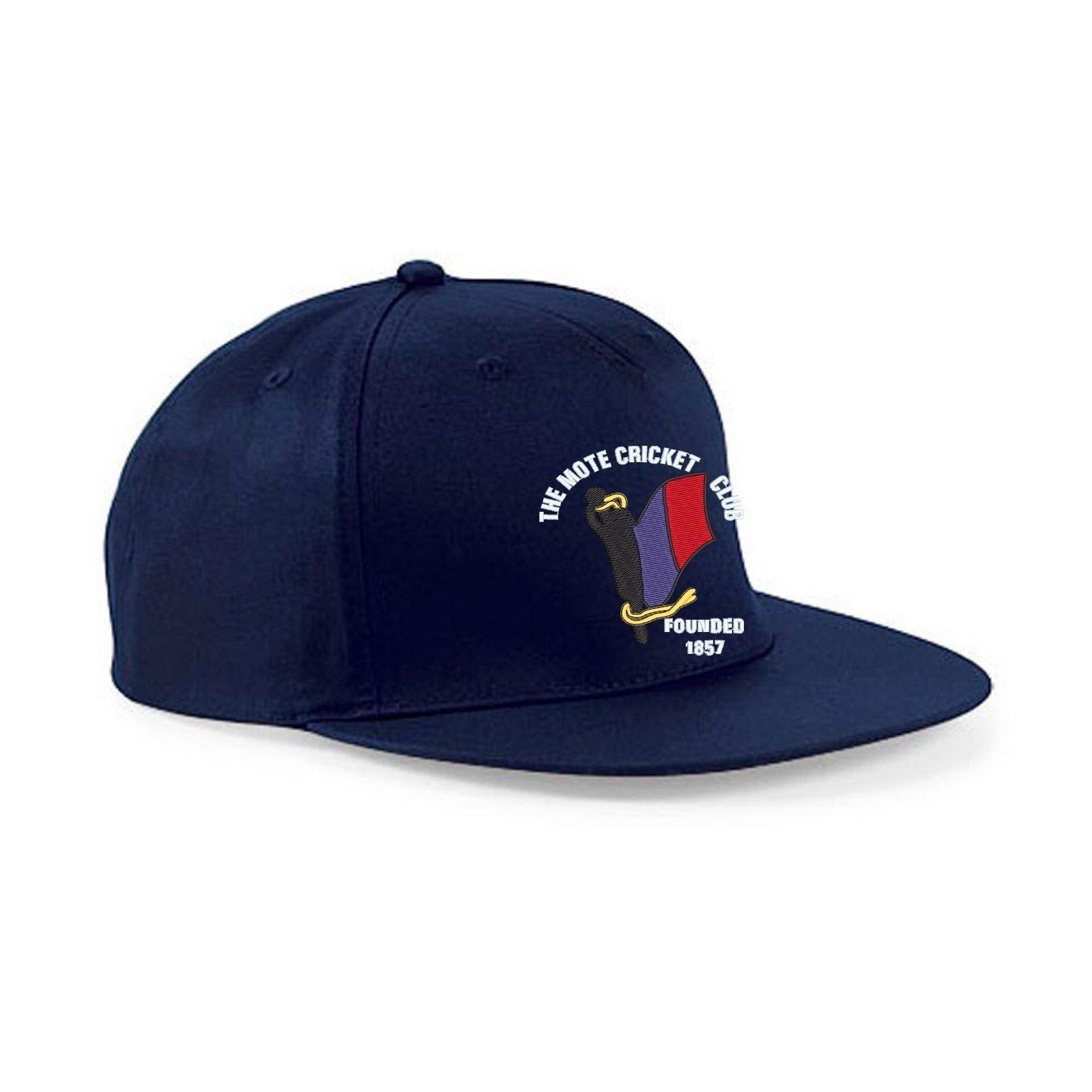 The Mote CC Navy Snapback Hat