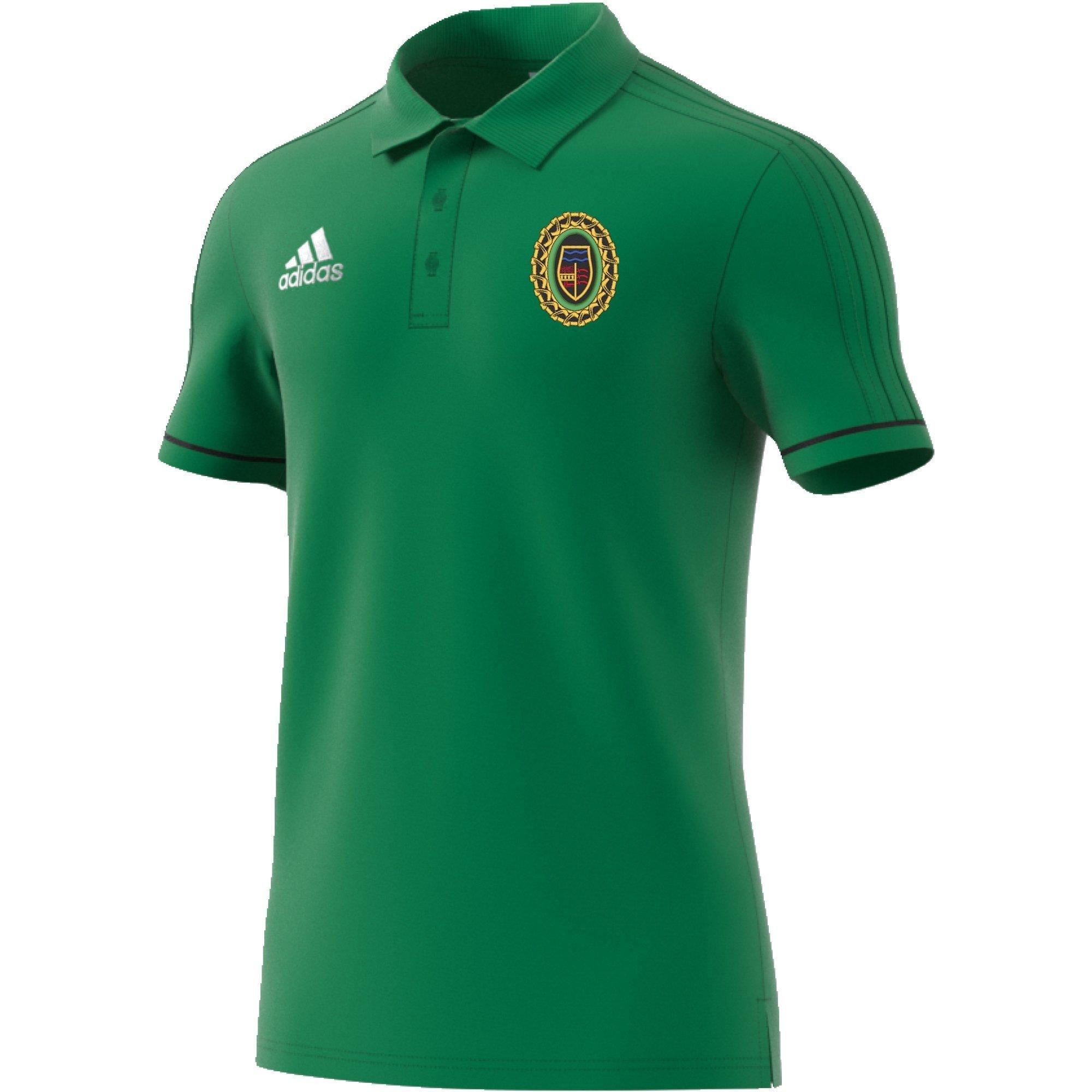 Springfield CC Adidas Green Polo
