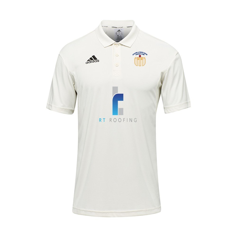 Chappel & Wakes Colne CC Adidas Pro Junior S/S Playing Shirt