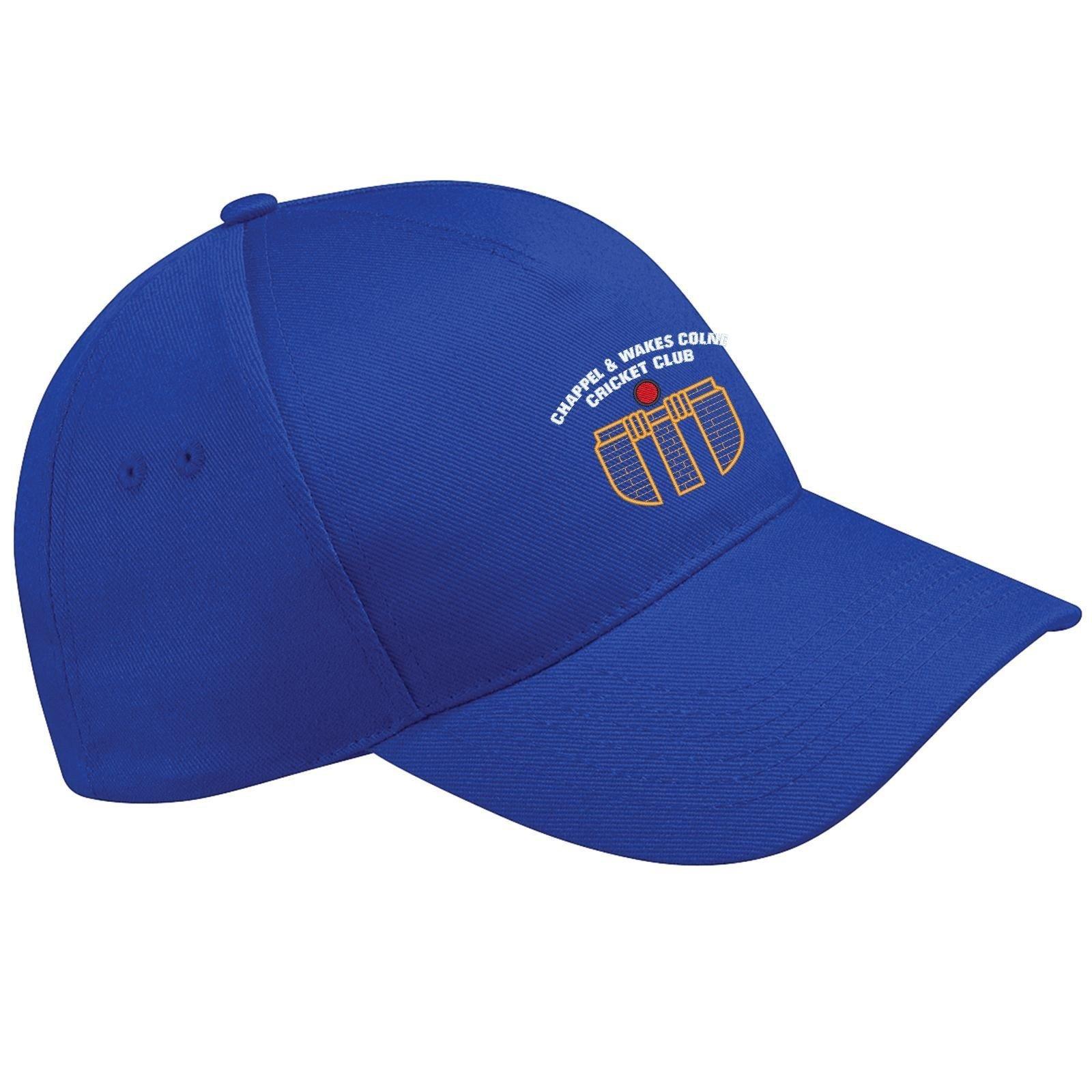 Chappel & Wakes Colne CC Royal Blue Baseball Cap