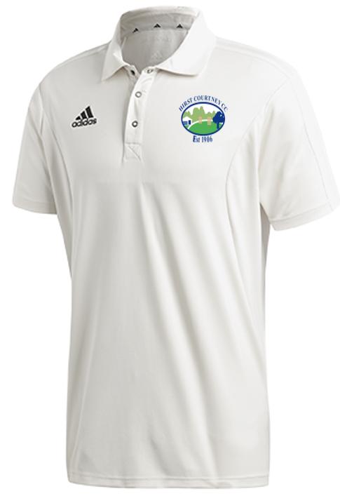Hirst Courtney CC Adidas Elite Junior Short Sleeve Shirt