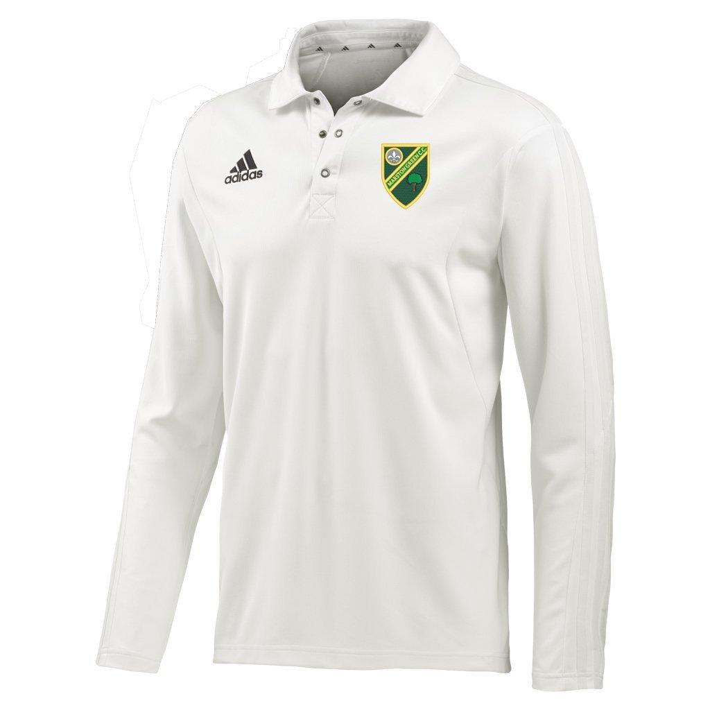 Marston Green CC Adidas L/S Playing Shirt