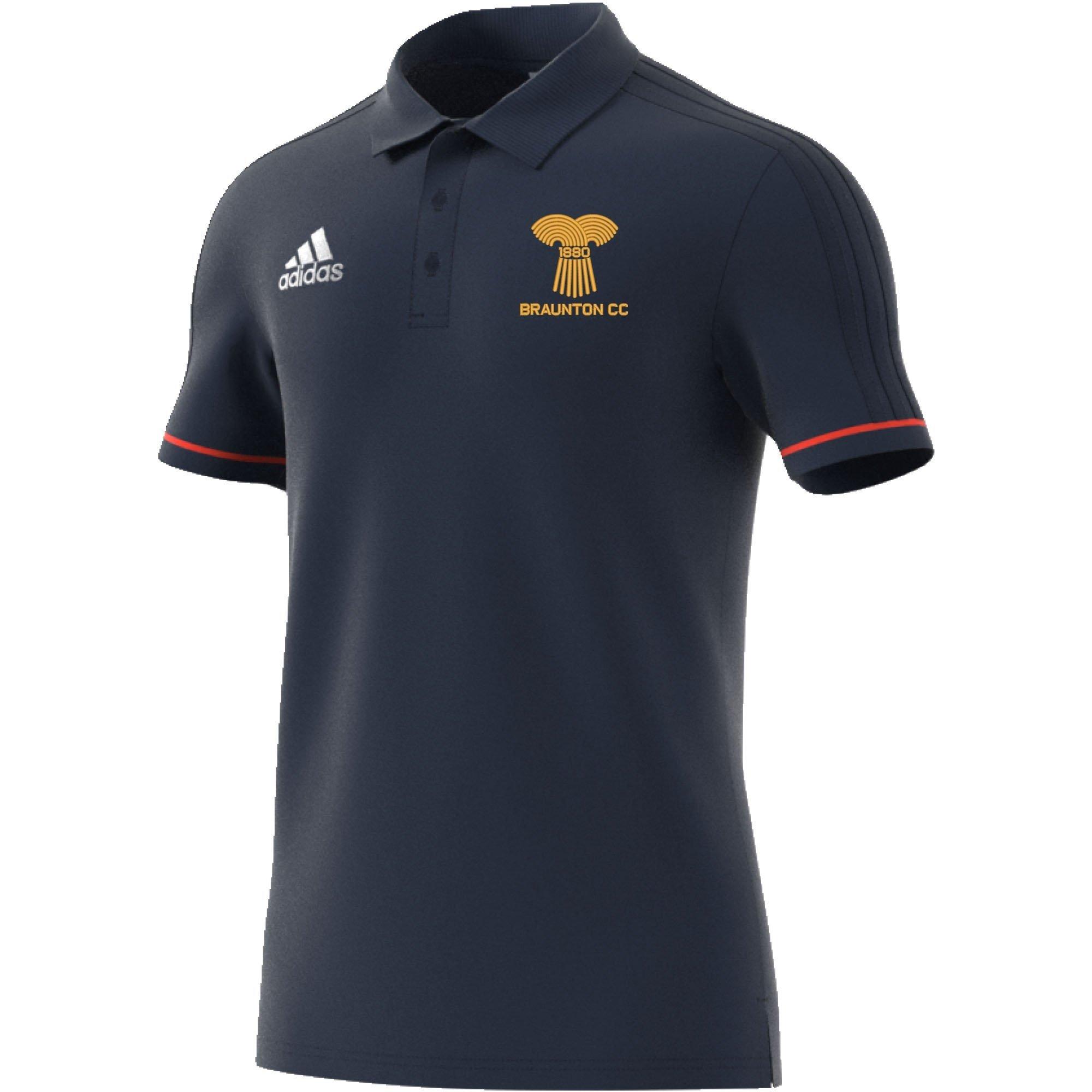 Braunton CC Adidas Navy Polo