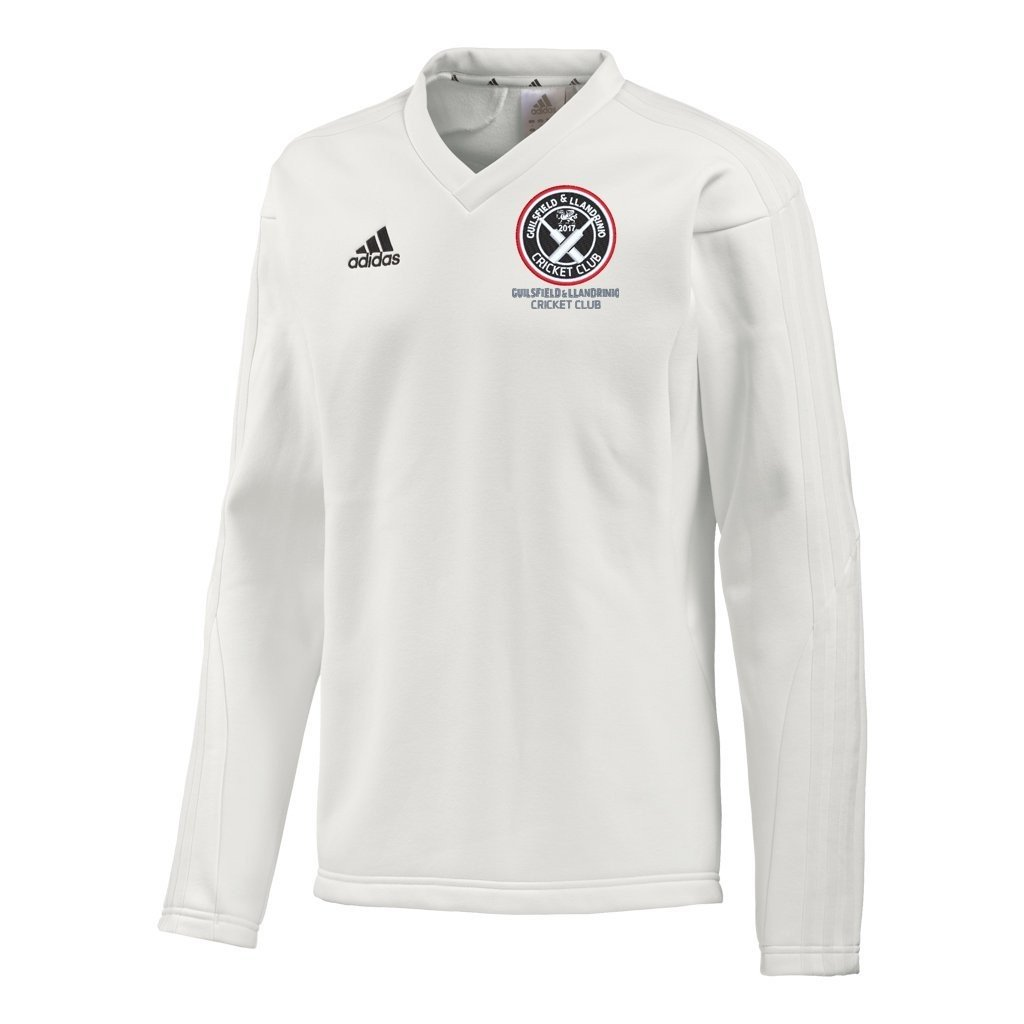 Guilsfield & Llandrino CC Adidas L/S Playing Sweater