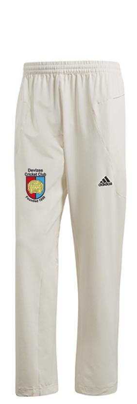 Devizes CC Adidas Elite Junior Playing Trousers