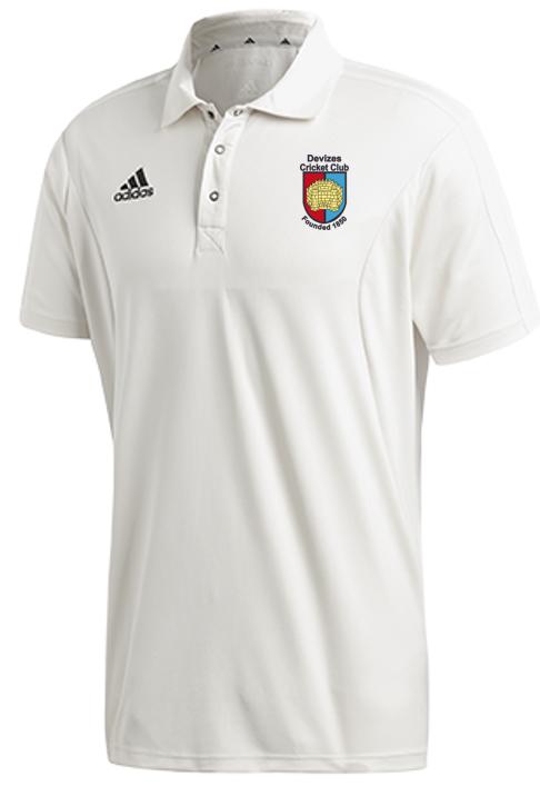 Devizes CC Adidas Elite Junior Short Sleeve Shirt