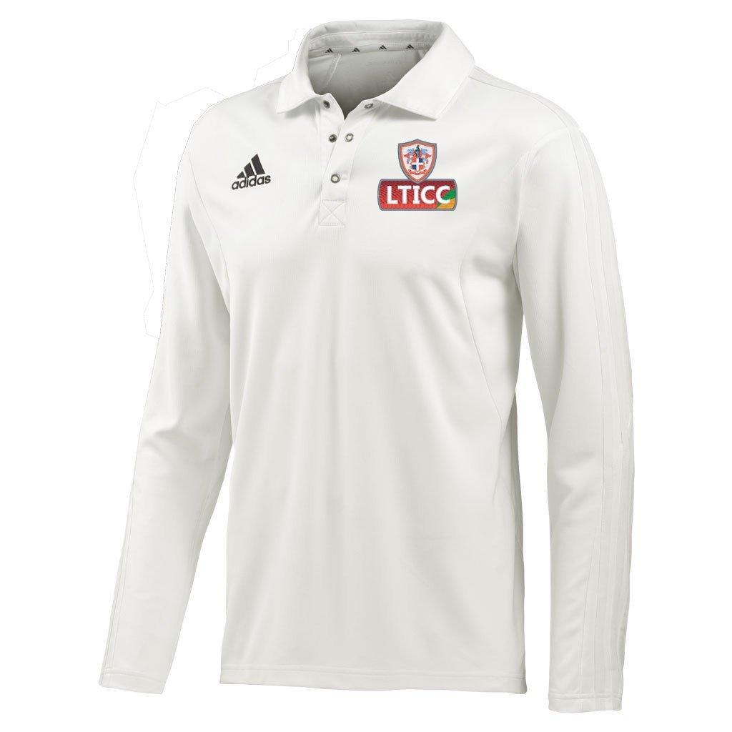 Luton Town & Indians CC Adidas L/S Playing Shirt