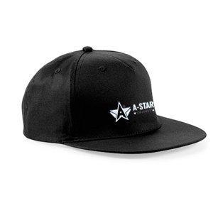 A-Star Cricket Black Snapback Hat