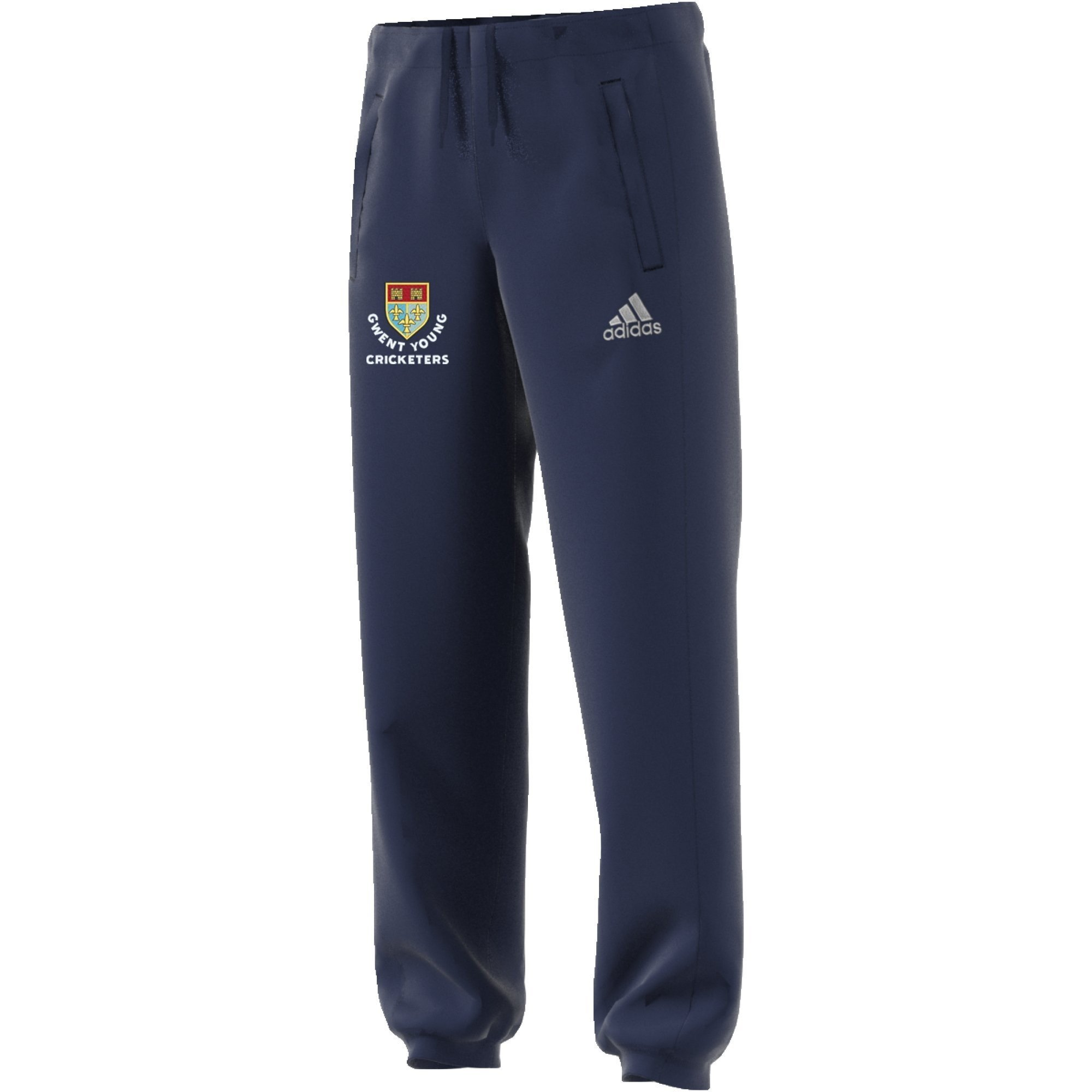 Gwent Young Cricketers Adidas Navy Sweat Pants