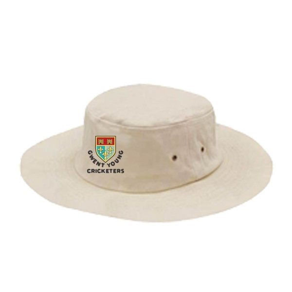 Gwent Young Cricketers Sun Hat