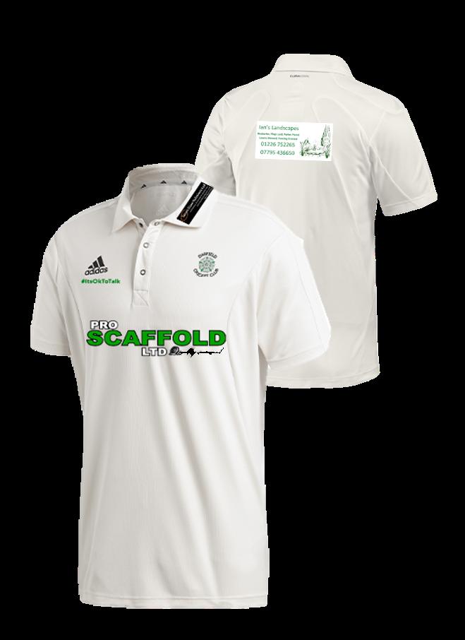 Darfield CC Adidas Elite Short Sleeve Shirt