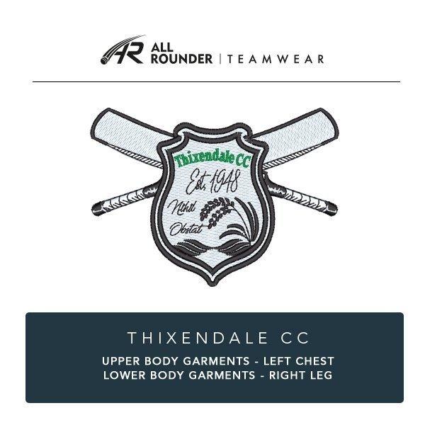 Thixendale CC Embroidery Details