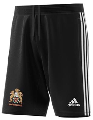 East Horsley CC Adidas Black Junior Training Shorts