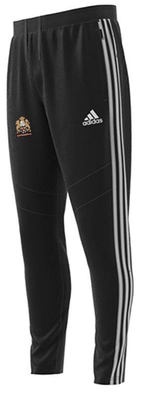 East Horsley CC Adidas Black Junior Training Pants