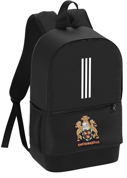 East Horsley CC Black Training Backpack