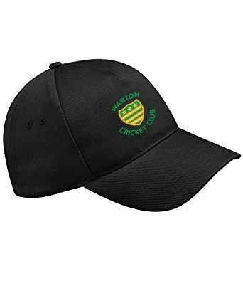 Warton CC Black Baseball Cap