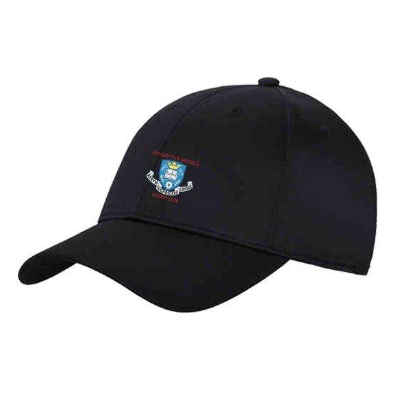 Sheffield University CC Black Baseball Cap
