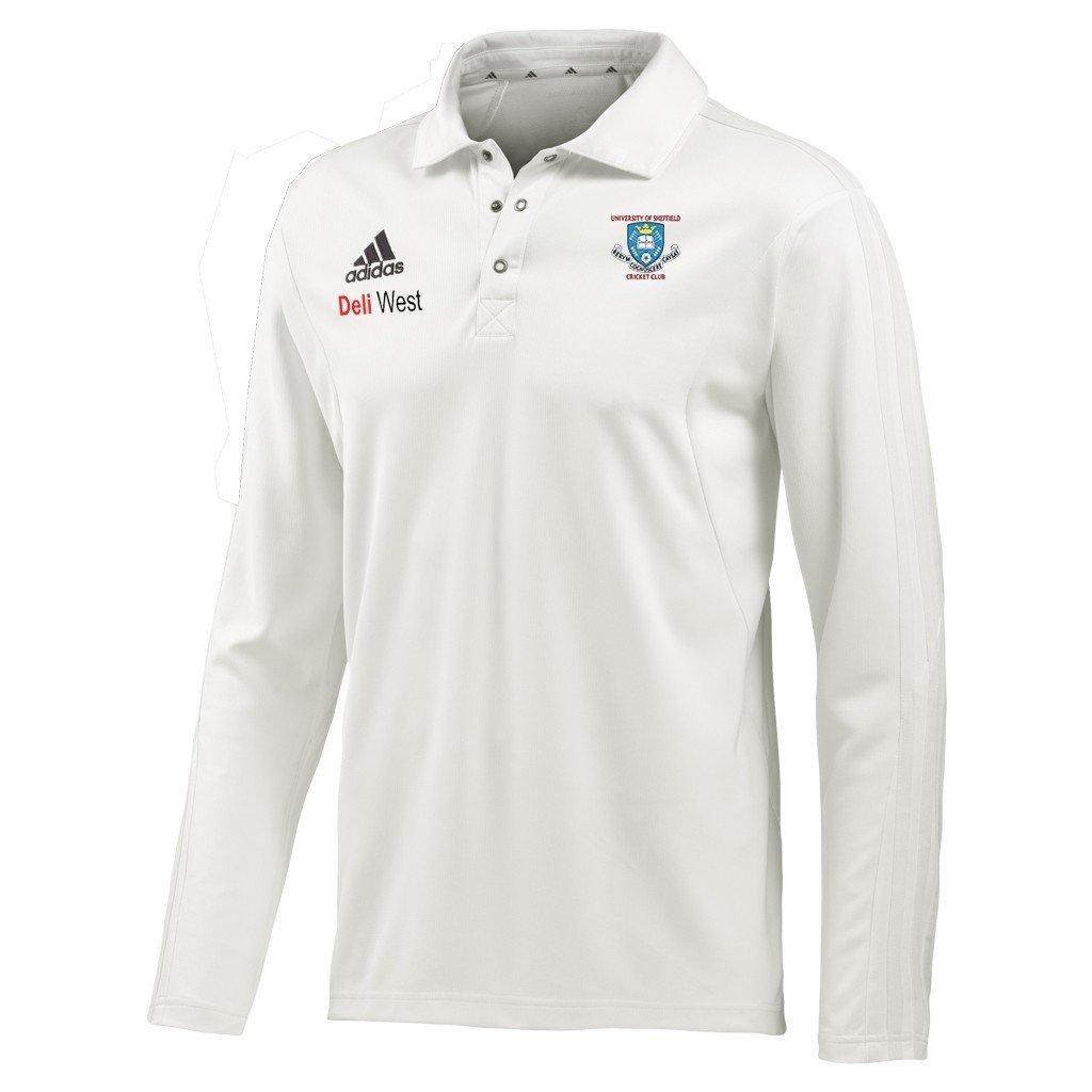Sheffield University CC Adidas Elite L/S Playing Shirt