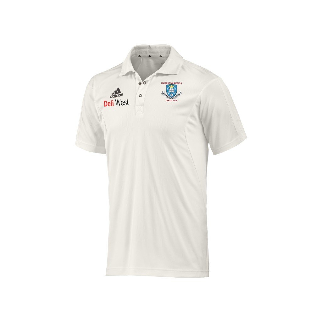 Sheffield University CC Adidas Elite S/S Playing Shirt