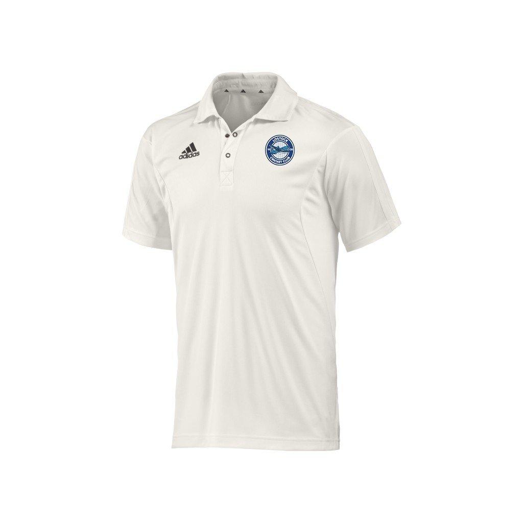 Lostock CC Adidas Elite Junior Playing Shirt